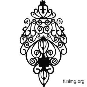 Красивые узоры симметричные картинки013