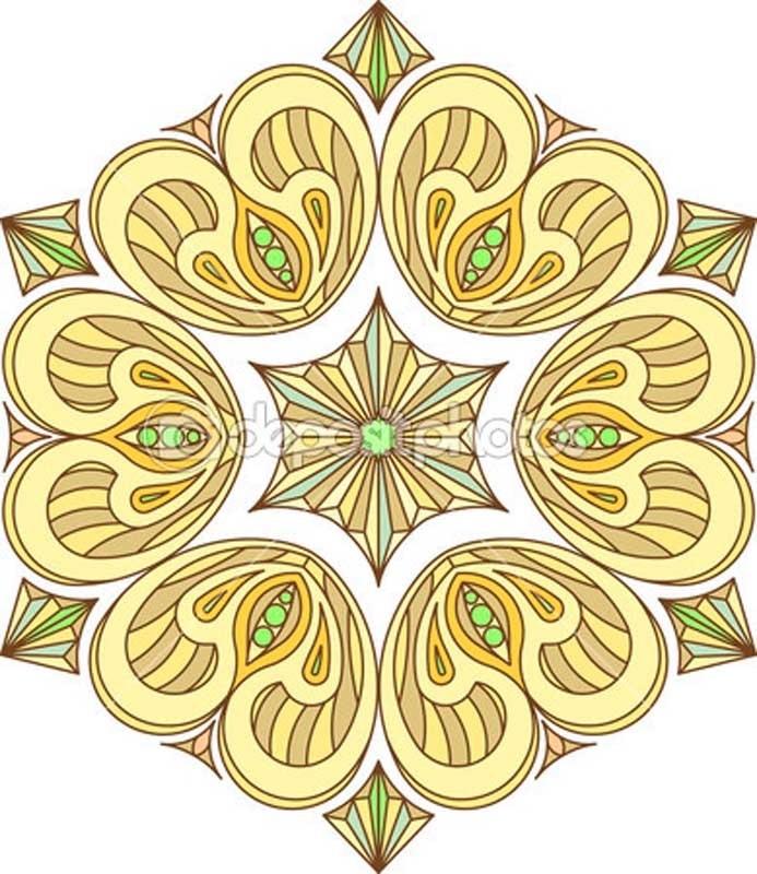 Красивые узоры симметричные картинки014