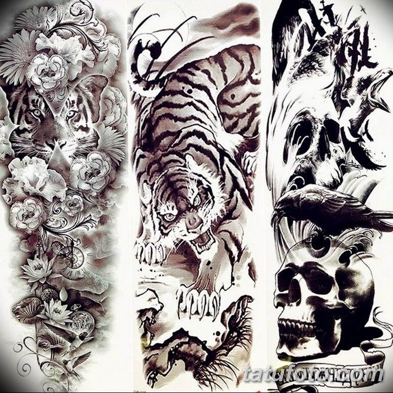 Красивые эскизы тату бокс 024