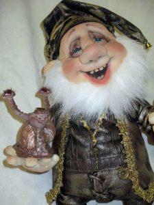 Куклы гномы из капрона картинки 020