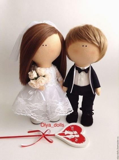 Куклы свадебные ручной работы 002