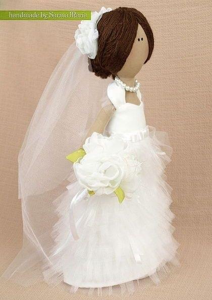 Куклы свадебные ручной работы 004