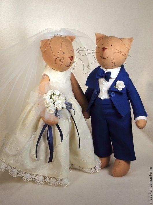 Куклы свадебные ручной работы 009