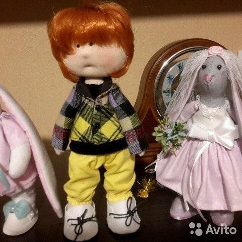 Куклы свадебные ручной работы 011