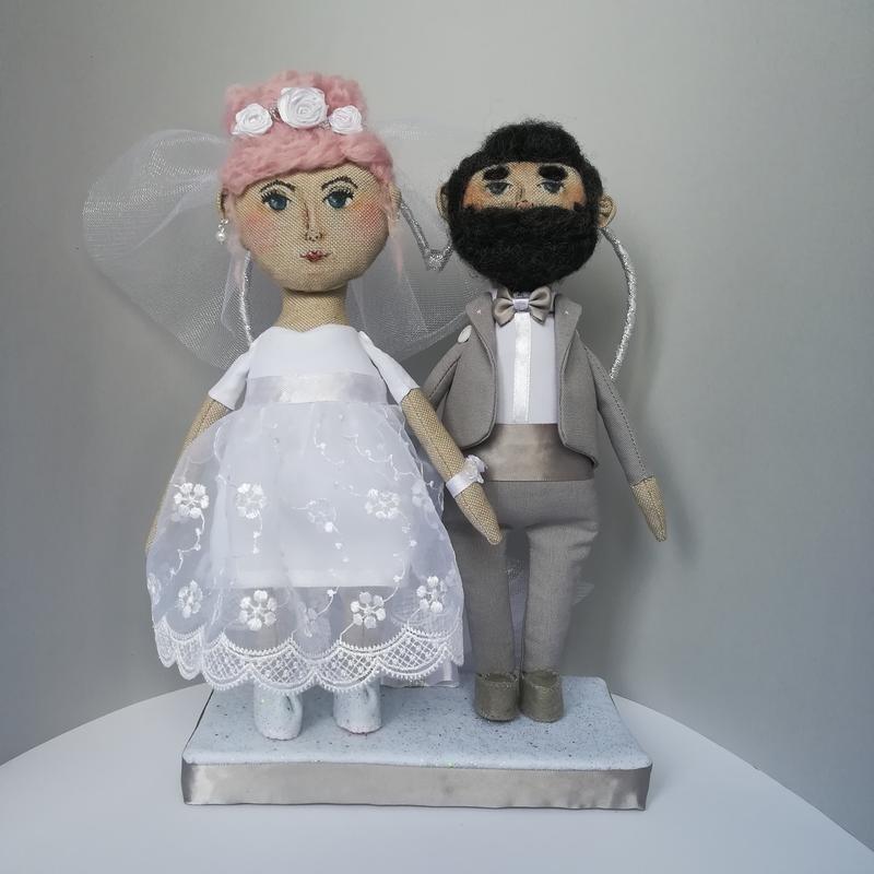 Куклы свадебные ручной работы 012