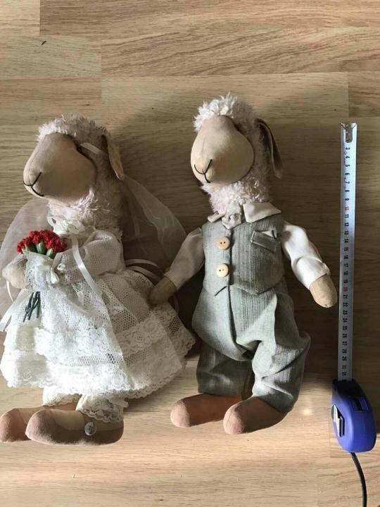 Куклы свадебные ручной работы 015