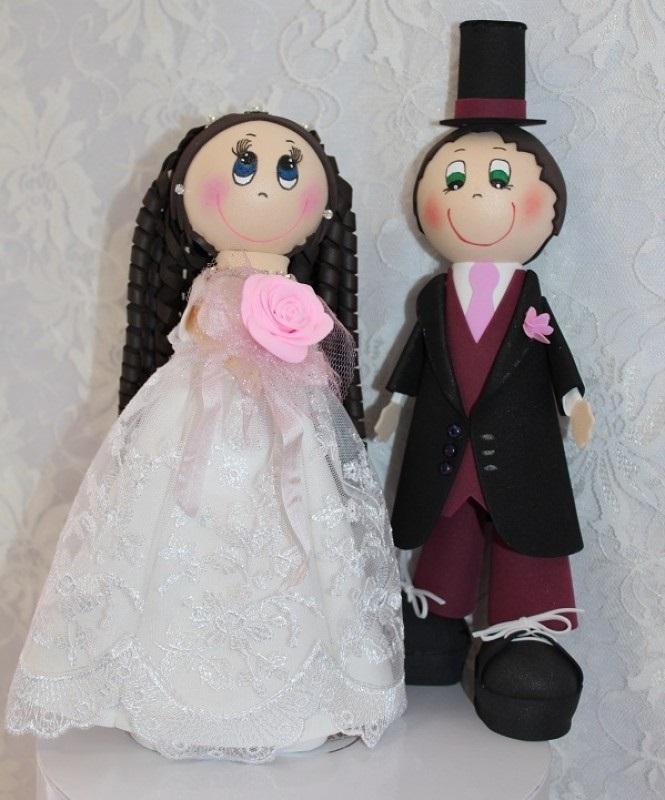 Куклы свадебные ручной работы 018