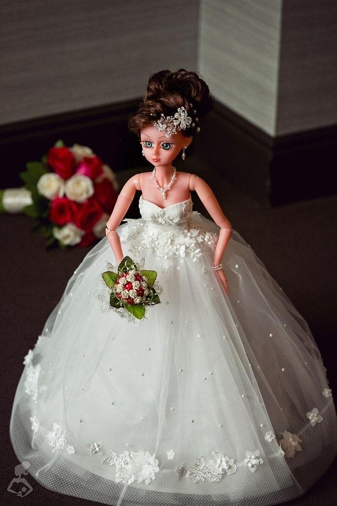 Куклы свадебные ручной работы 020
