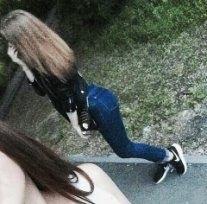 Лучшие фото девушек без лица с русыми волосами на аватарку008