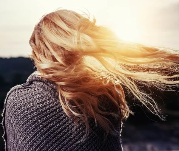 Лучшие фото девушек без лица с русыми волосами на аватарку009