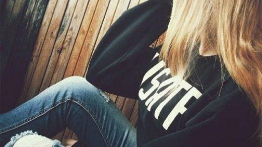 Лучшие фото на аватарку для девушек без лица летом блондинка006