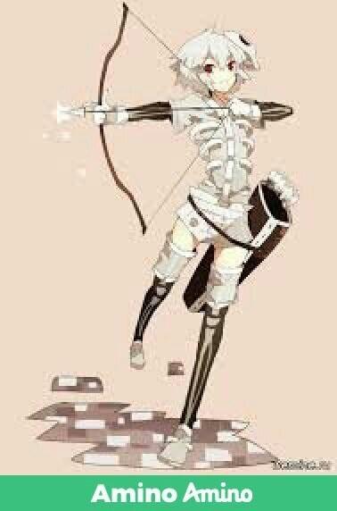 Майнкрафт аниме скелет 023