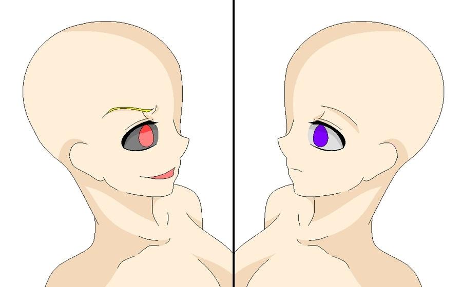 Манекены аниме пара 006