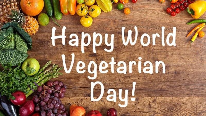 Международный веганский день (World Vegan Day)   красивая открытка 002