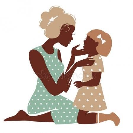 Милые картинки Мать и взрослая дочь 004
