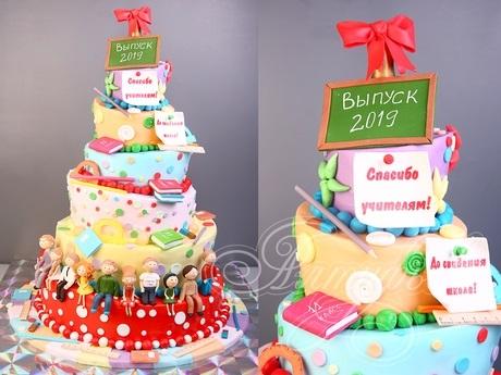 Милые торты для учителей на день учителя006