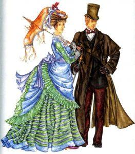 Мужская мода в англии 19 века картинки 022