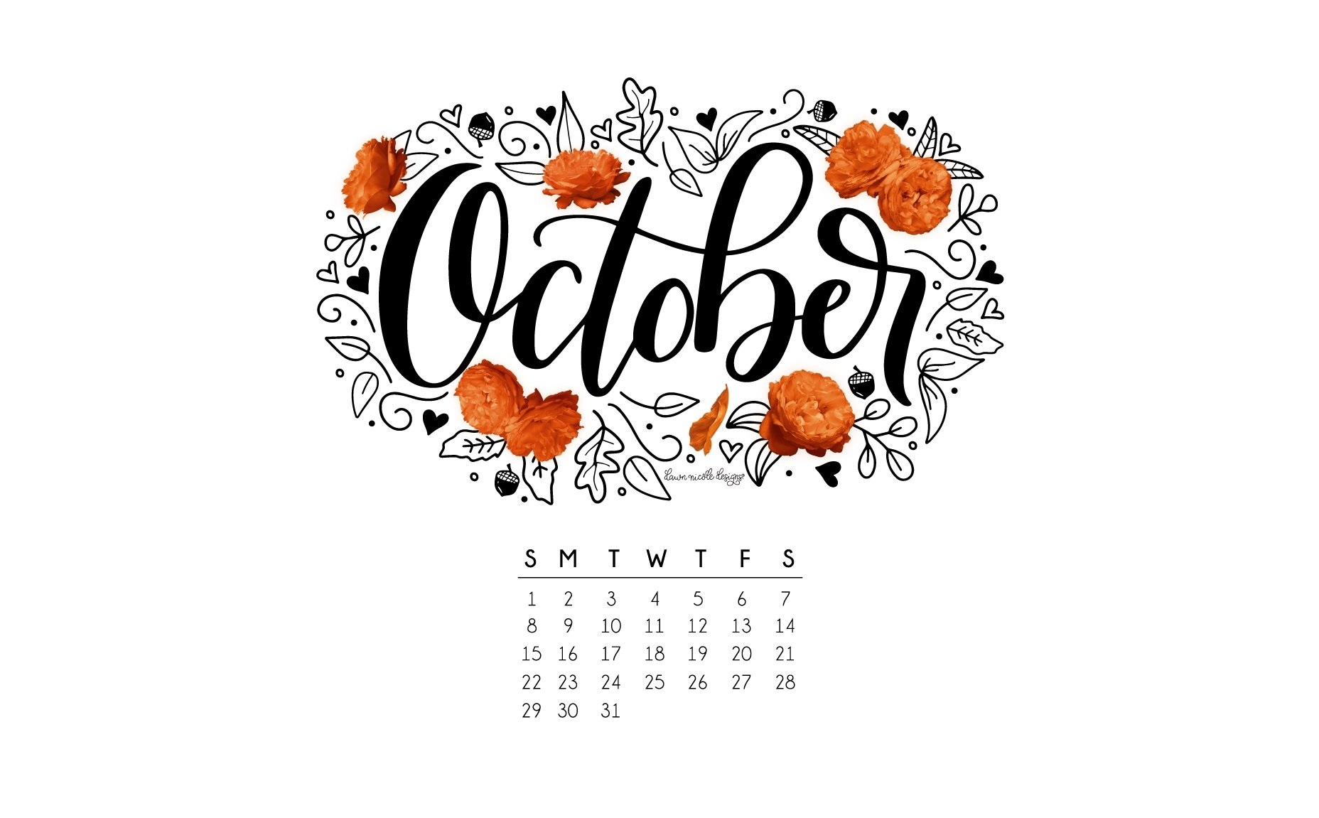 Открытки, картинка с надписью календарь