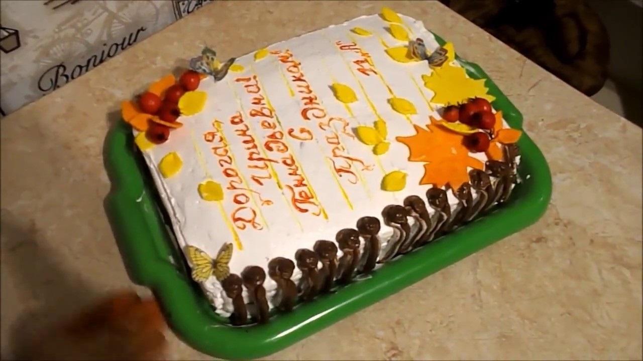 Прикольные идеи тортов на день учителя011