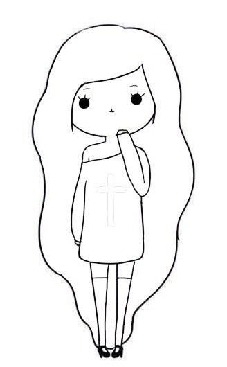 Разные рисунки для девочек с 8 лет 001