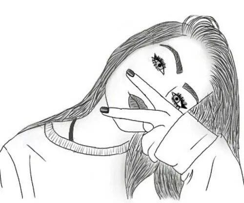 Разные рисунки для девочек с 8 лет 005