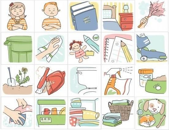 Распорядок дня в картинках для дошкольника 008