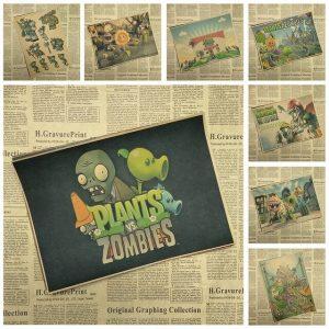 Растения против зомби из бумаги схемы 021