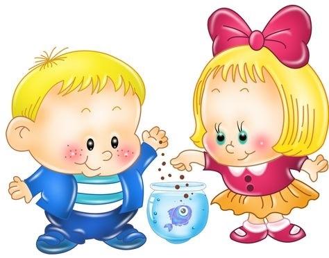 Рисунки воспитатель и дети в детском саду 003