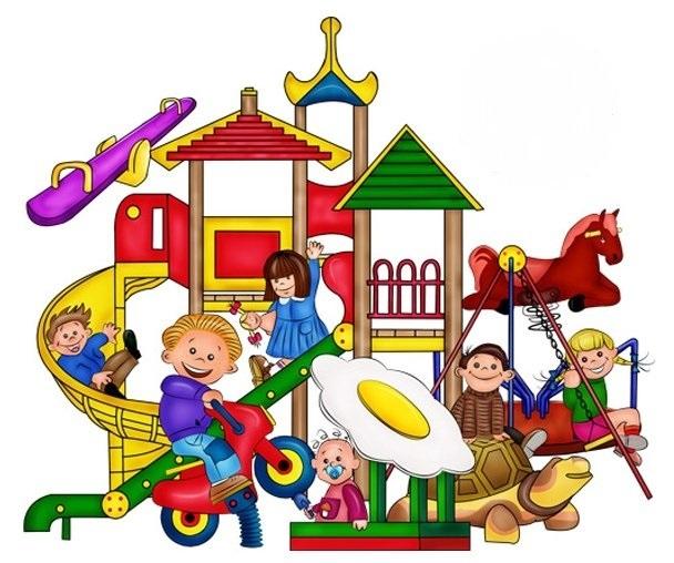 Рисунки воспитатель и дети в детском саду 011