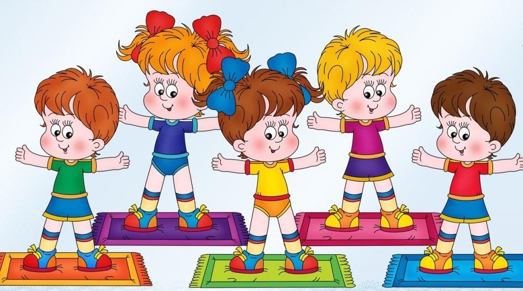 Рисунки воспитатель и дети в детском саду 021