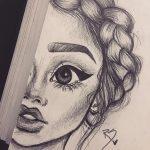 Рисунки для девушек красивые — милая сборка