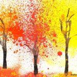 Рисунок осень ладошками   загрузить подборку