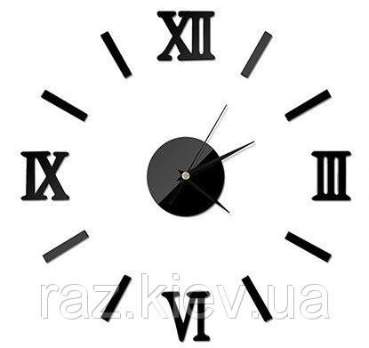 Рисунок часов с римскими цифрами 001