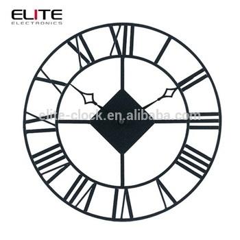 Рисунок часов с римскими цифрами 004