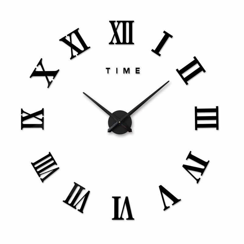 Рисунок часов с римскими цифрами 008