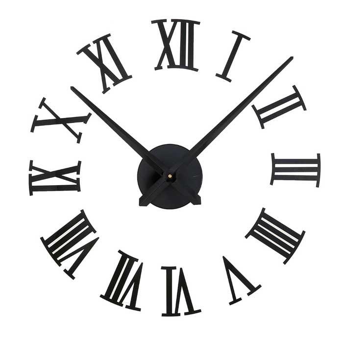 Рисунок часов с римскими цифрами 010