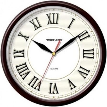 Рисунок часов с римскими цифрами 011