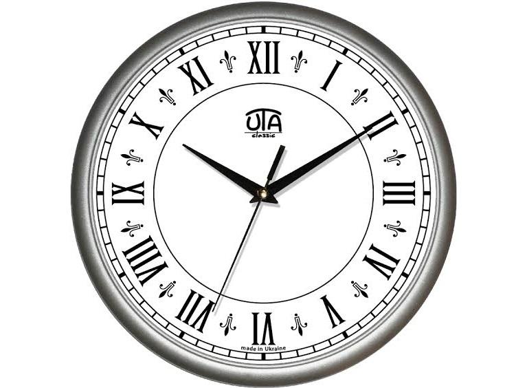 Рисунок часов с римскими цифрами 016