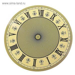 Рисунок часов с римскими цифрами 019