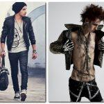Рок стиль в мужской одежде — красивые фото