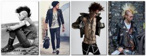 Рок стиль в мужской одежде 020
