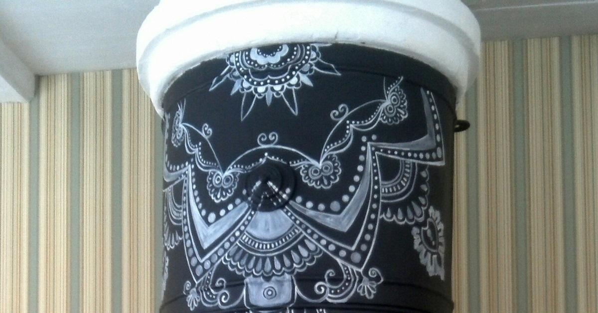 Роспись печки своими руками картинки 022