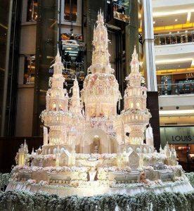 Свадебный торт в виде замка картинки 021