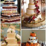Свадебный торт в осеннем стиле картинки — коллекция бесплатно