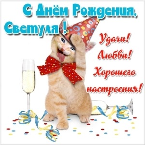 Свету с днем рождения прикольные открытки004