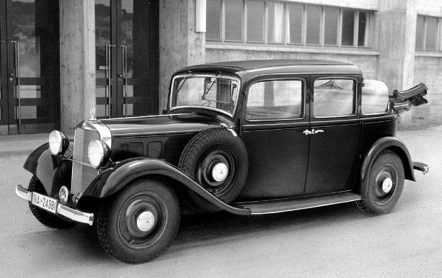 Создан первый автомобиль  Мерседес  (1901) 002