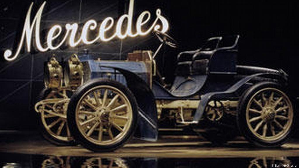 Создан первый автомобиль  Мерседес  (1901) 003