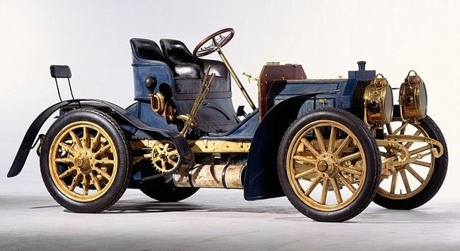 Создан первый автомобиль  Мерседес  (1901) 007