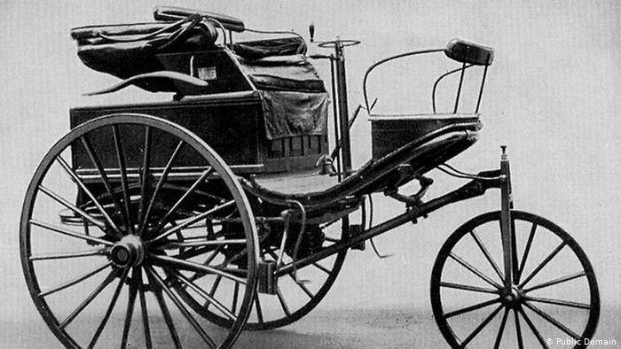 Создан первый автомобиль  Мерседес  (1901) 009