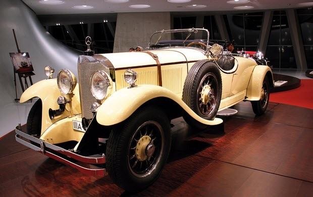 Создан первый автомобиль  Мерседес  (1901) 010